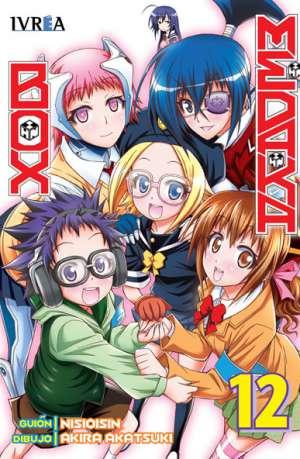 Manga Medaka Box Tomo 12