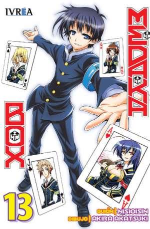 Manga Medaka Box Tomo 13