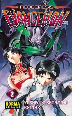 Manga Neogenesis Evangelion Tomo 02