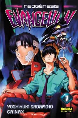 Manga Neogenesis Evangelion Tomo 07