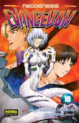 Manga Neogenesis Evangelion Tomo 10