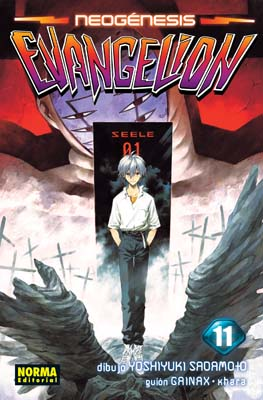 Manga Neogenesis Evangelion Tomo 11