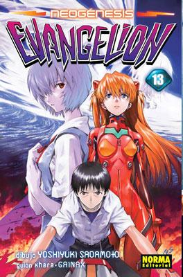 Manga Neogenesis Evangelion Tomo 13