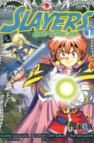 Manga Slayers Knight Of Aqua Lord