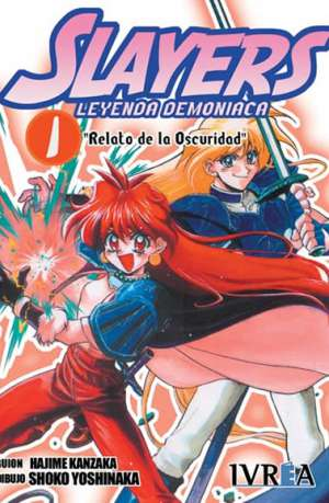 Manga Slayers Leyenda Demoniaca