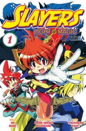 Manga Slayers Light Magic