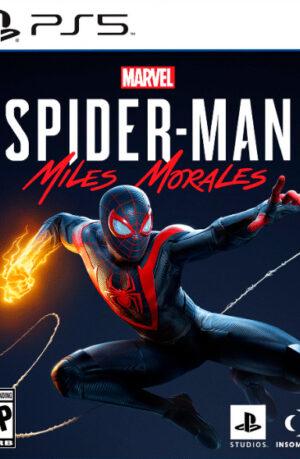 Marvel Spider Man Miles Morales PS5