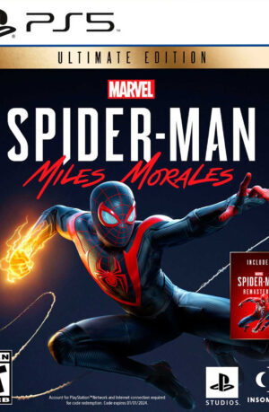 Marvel Spider Man Miles Morales Ultimate Edition PS5