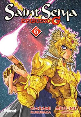 Manga Saint Seiya episodio G Tomo 06