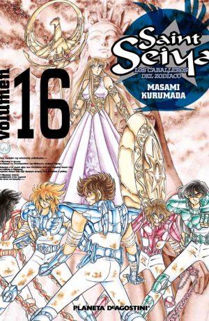 Manga Saint Seiya Los Caballeros del Zodiaco Tomo 16