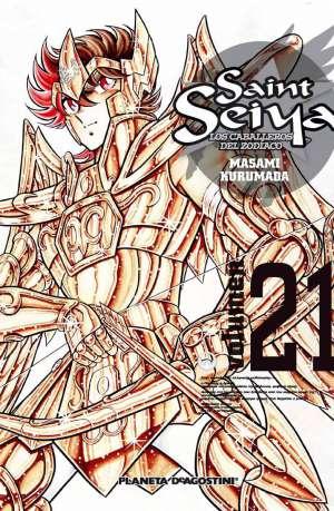 Manga Saint Seiya Los Caballeros del Zodiaco Tomo 21