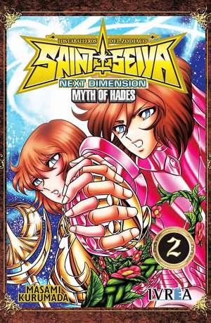 Manga Saint Seiya Next Dimension Myth of Hades Tomo 02