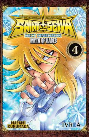 Manga Saint Seiya Next Dimension Myth of Hades Tomo 04