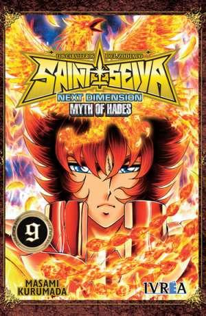 Manga Saint Seiya Next Dimension Myth of Hades Tomo 09