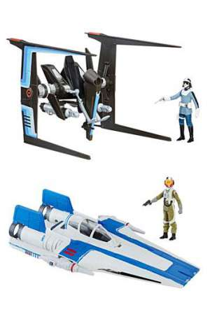 Star Wars Episodio VIII Force Link Vehículos con Figuras 2017 Class B Wave 1 01