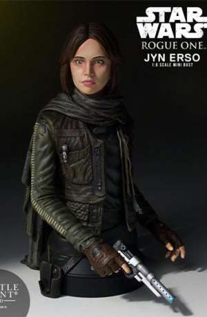 Star Wars Rogue One Busto Jyn Erso Seal Commander 01