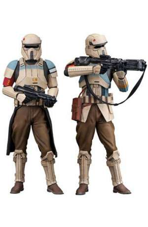 Star Wars Rogue One Pack de 2 Figuras ARTFX Scarif Stormtrooper 01