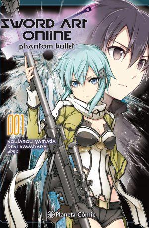 Manga Sword Art Online Phantom Bullet 01