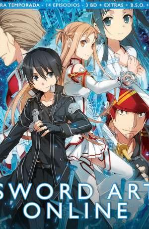 Sword Art Online Blu Ray Temporada 1 parte 1